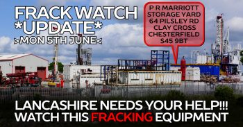 Lancashire Fracking Threat: Keeping Tabs On Cuadrilla's Drilling Rig