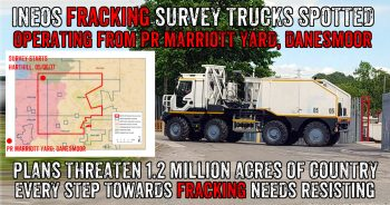 Asset Stripped Polish Fracking Company Trucks Prepare For Ineos Survey