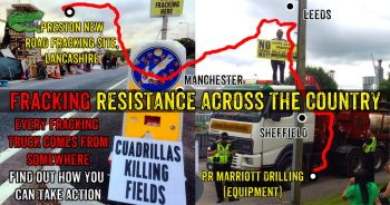 Fracking Resistance: Focus On Transport Of Drilling Equipment To Lancashire