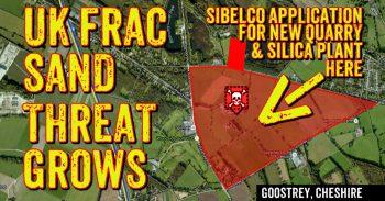 World's Largest Producer Of Fracking Sand Targets Cheshire