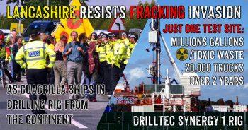 Fracking Threat: Lancashire Communities Resist Cuadrilla's Drilling Plans