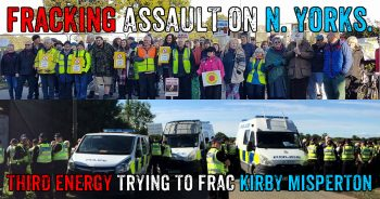 Fracking Yorkshire: Community Resists Preparations To Frac KM8 Well