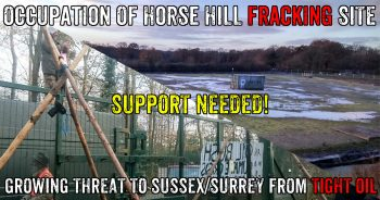 Horse Hill Fracking Site Occupied As Tight Oil Threat Grows