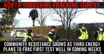 North Yorkshire Communities Resist Fracking At Kirby Misperton