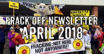 Frack Off April Newsletter: Fracking Industry Counts Cost Of More Delays