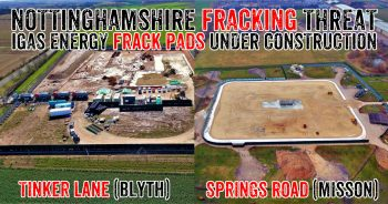 Communities Mobilising To Resist Threat From Nottinghamshire Frack Pads