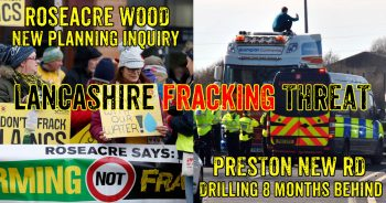 Lancashire Communities Continue To Resist Cuadrilla's Fracking Plans