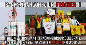 The UK's First Anti-Fracking Community Group Stops Fracking Site